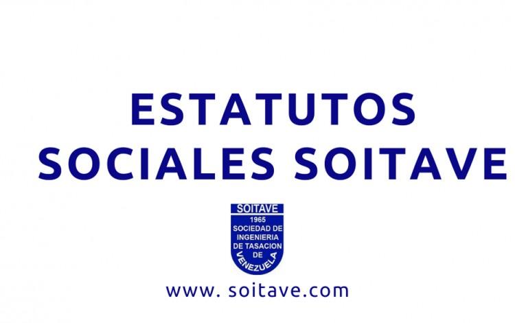 Estatutos Sociales Sociedad de Ingeniería de Tasación de Venezuela