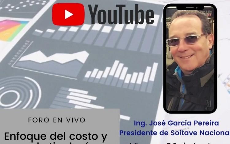 """FORO """"ENFOQUE  DEL COSTO Y USO DE TIPOLOGÍAS EN MERCADOS HIPERINFLACIONARIOS"""""""