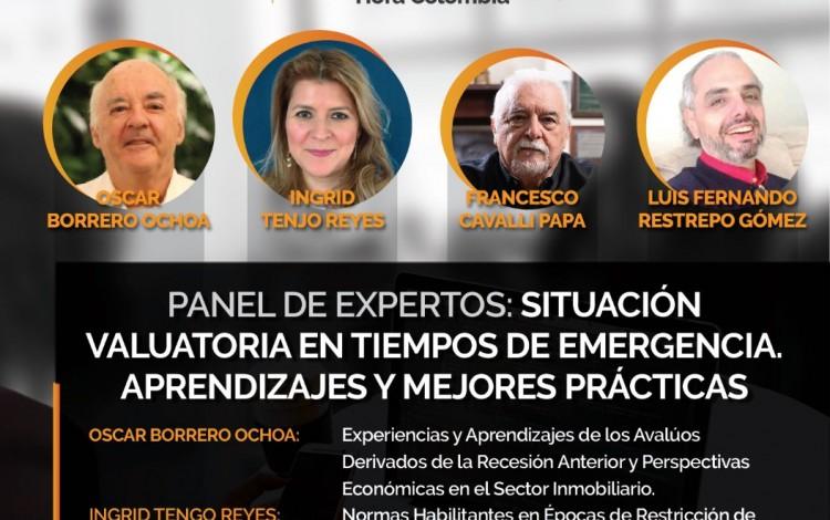 """Promoción """" VALUACIÓN EN TIEMPOS DE EMERGENCIA"""" RNA COLOMBIA."""